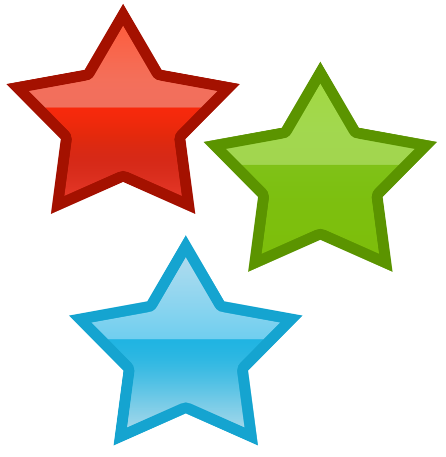 Drawn star clipart png image Three stars by WordDraw on DeviantArt image
