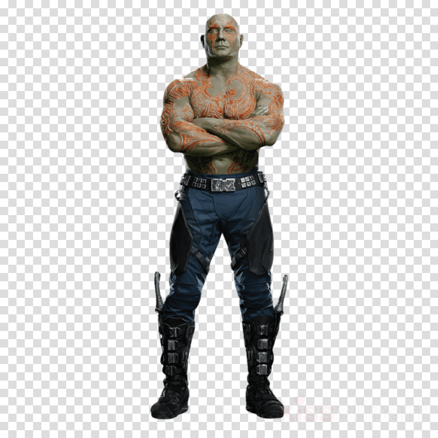 Drax the destroyer clipart jpg free stock Drax The Destroyer, Starlord, Gamora, transparent png image ... jpg free stock