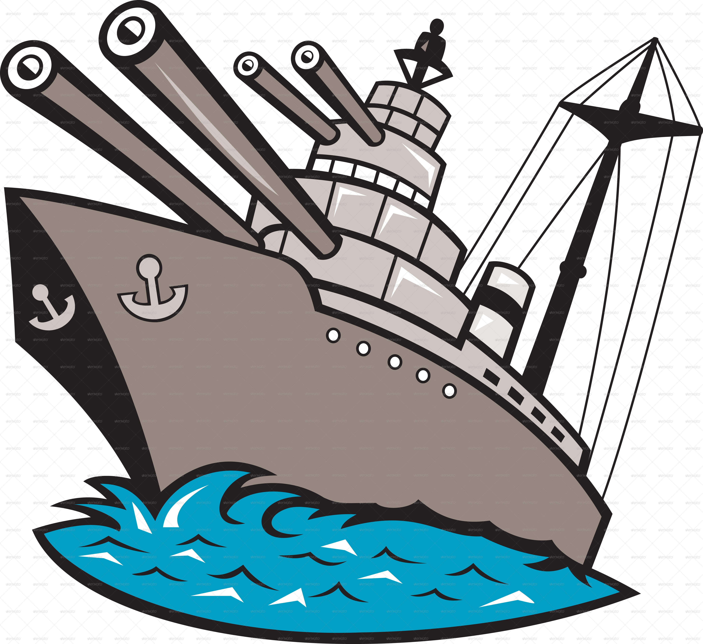 Dreadnought clipart banner transparent stock U S Navy Ships Cartoon Clipart - Clip Art Library banner transparent stock