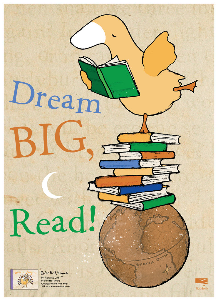 Dream big read clipart jpg library stock Dream Big, Read!   Poster for ALA Winter 2012 Convention Cli…   Flickr jpg library stock