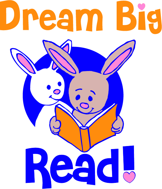 Dream big read clipart image freeuse stock Dream Big!–READ   Orland Free Library image freeuse stock