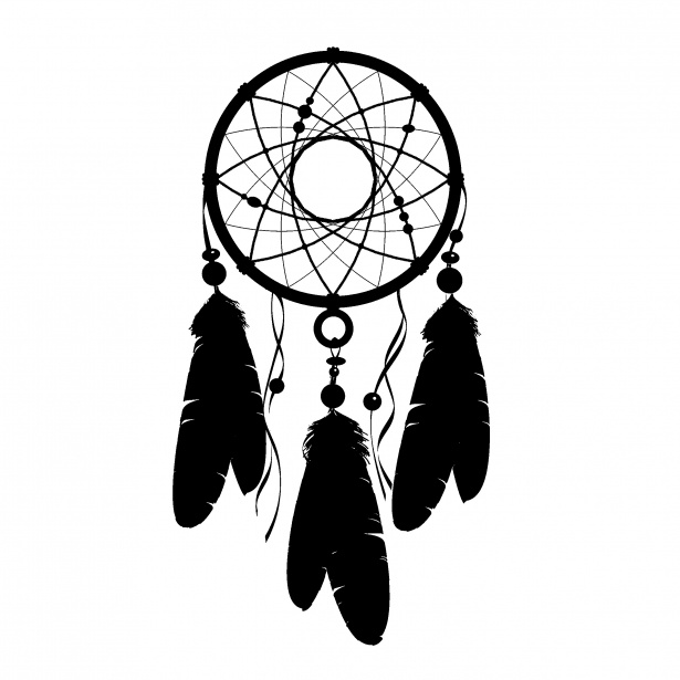 Dream catcher clipart free image royalty free stock Dream Catcher Silhouette Clipart Free Stock Photo - Public Domain ... image royalty free stock