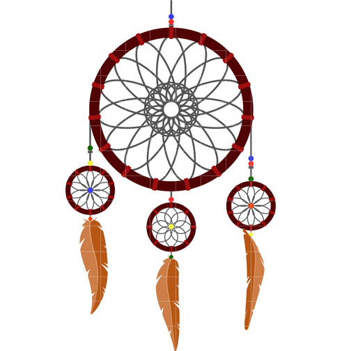 Dream catcher clipart free graphic black and white Free Dream Catcher Cliparts, Download Free Clip Art, Free Clip Art ... graphic black and white