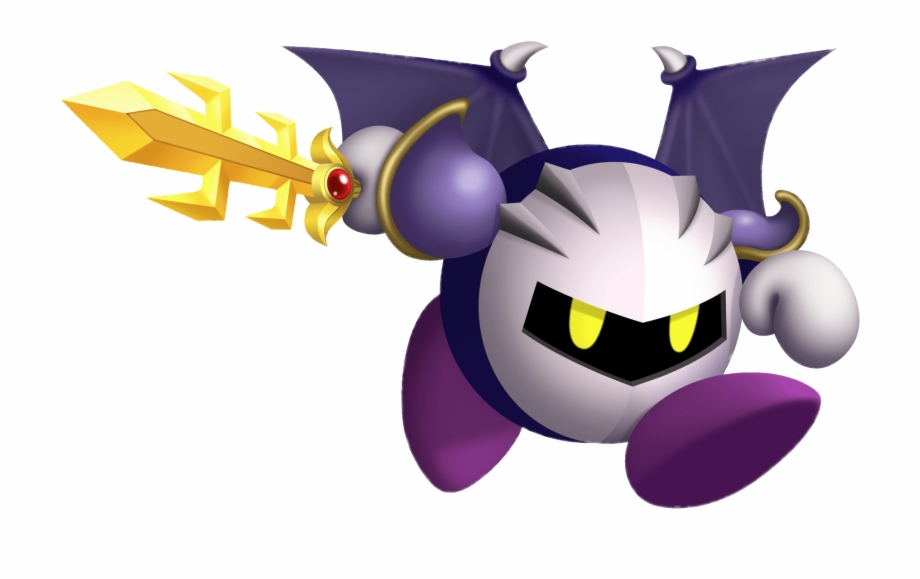 Dreamland clipart vector royalty free Download - Kirby\'s Return To Dreamland Meta Knight Free PNG Images ... vector royalty free