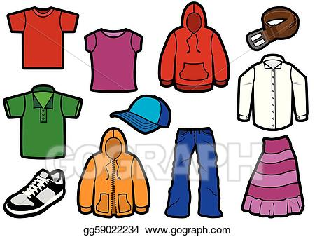 Dress for manufacturing clipart png black and white library Vector Illustration - Bold clothing symbol set. EPS Clipart ... png black and white library