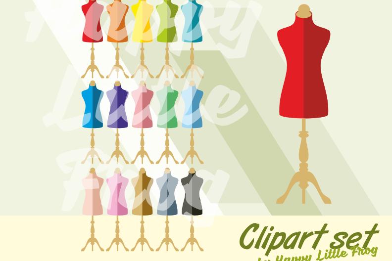 Dress form clipart vector stock Vintage mannequins clipart, dress forms clipart, sewing clipart, clothes  design cliparts, mannequin print, dress form vector stock