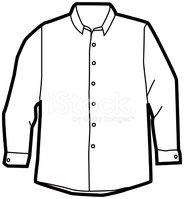 Dress shirt clipart graphic transparent stock Dress Shirt stock vectors - Clipart.me graphic transparent stock