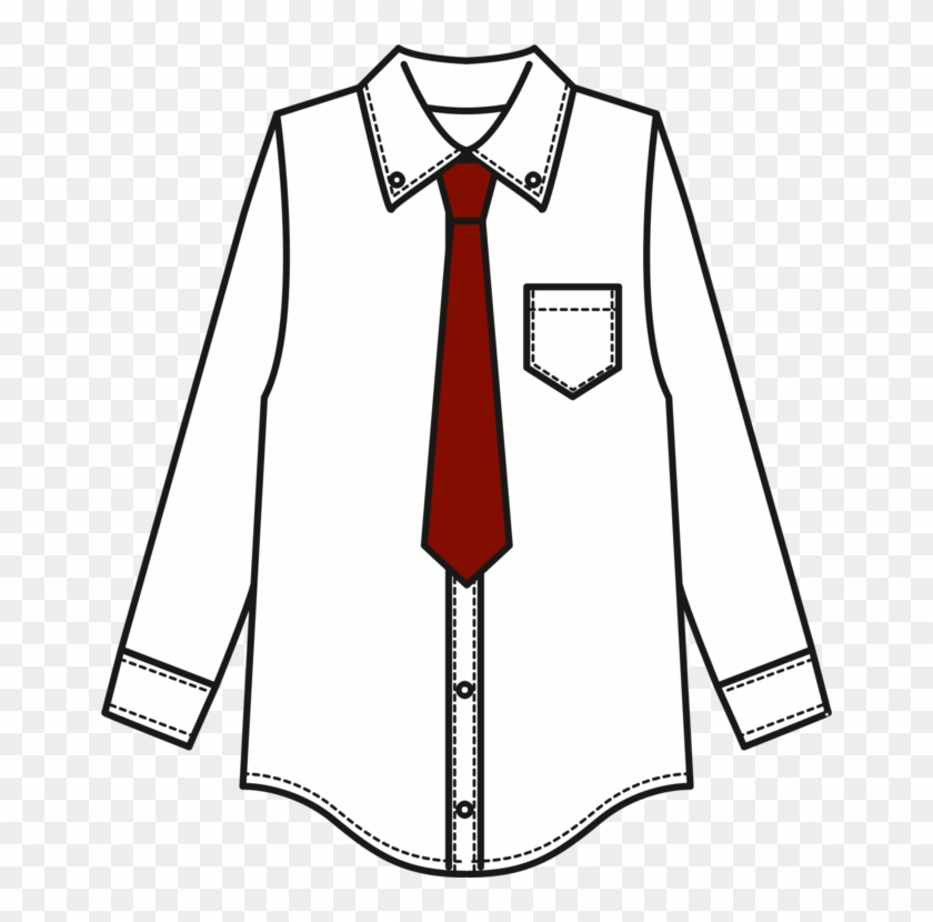 Dress shirt clipart graphic royalty free stock T-shirt Necktie Suit Tie Clip - Shirt And Tie Clipart, HD Png ... graphic royalty free stock