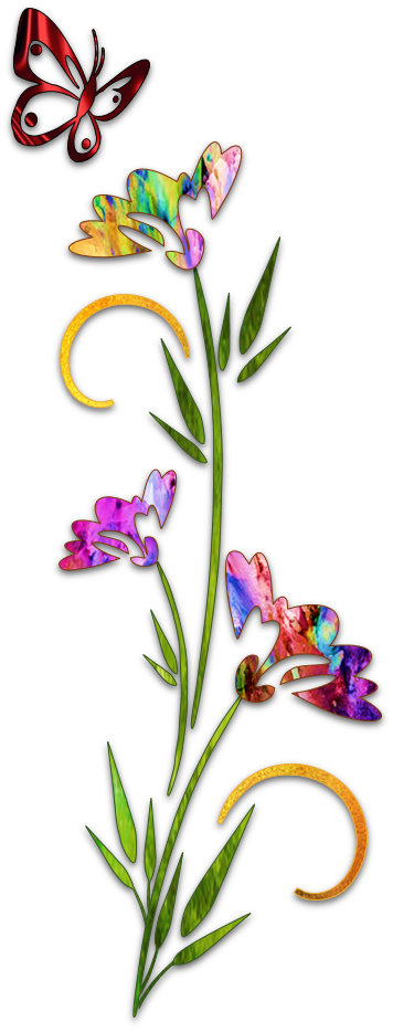 Dried flower clipart. Blog page art islamic