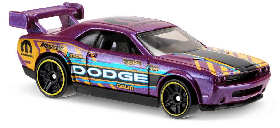 Drift car clipart black and white picture transparent library Dodge Challenger Drift Car in Purple, HW SPEED GRAPHICS, Car ... picture transparent library