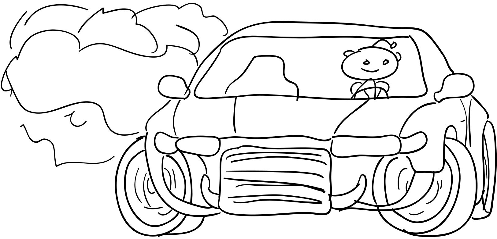 Drift clipart vector transparent Free Outline Drawing Of Drift Cars, Download Free Clip Art, Free ... vector transparent