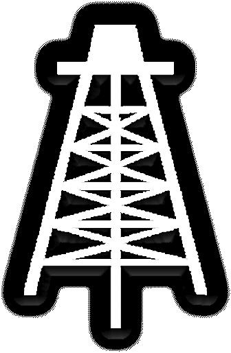 Oil drilling clipart