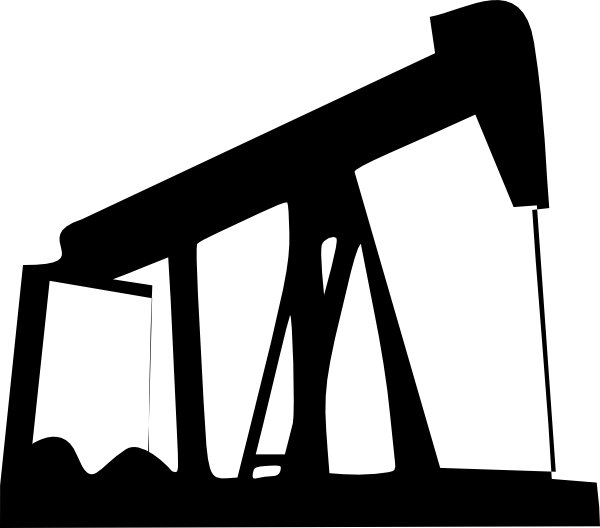 Drilling for oil clipart