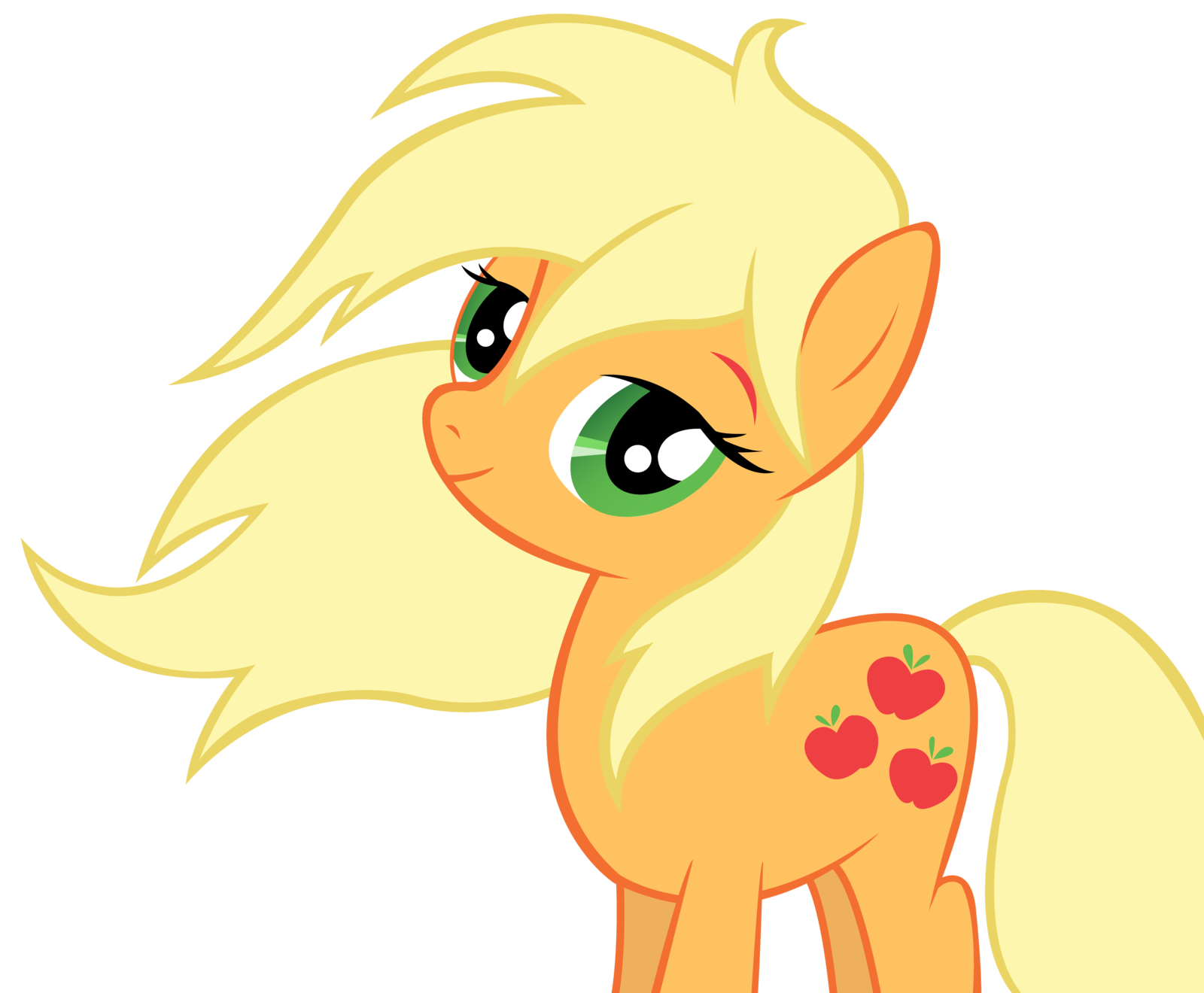 Drink apple jack clipart jpg black and white library Applejack looks so pretty with her hair down! | My Little Ponies ... jpg black and white library