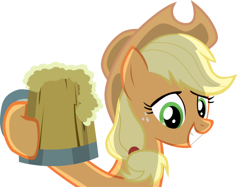 Drink apple jack clipart vector transparent library Hatbulb Preview: Applejack by laberoon on DeviantArt vector transparent library