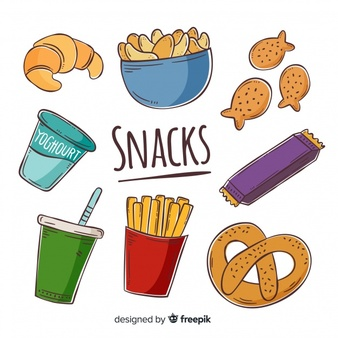 Snack Vectors, Photos and PSD files | Free Download clip black and white