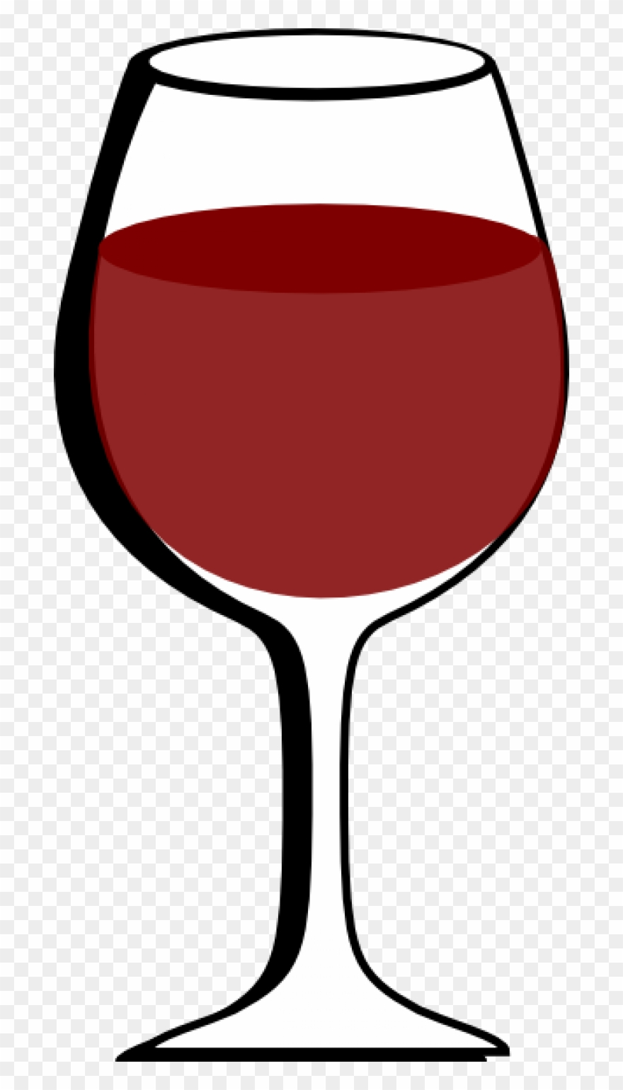 Wine in glass clipart graphic freeuse stock Wine Clip Art - Wine Glass Clipart Png Transparent Png (#197477 ... graphic freeuse stock