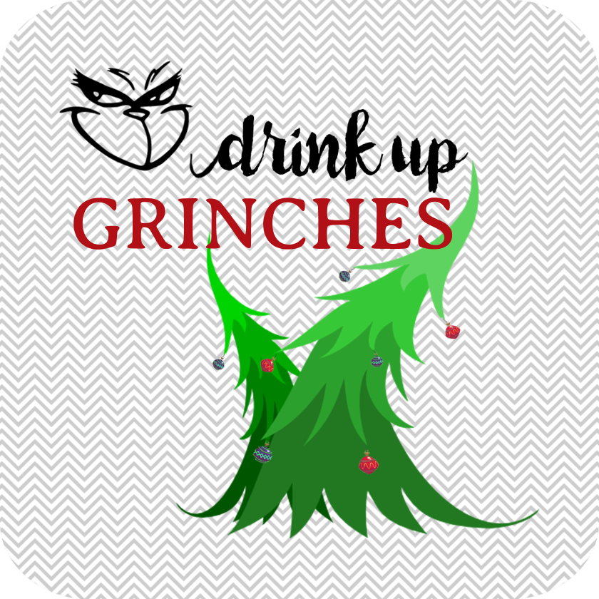 Drink up grinches clipart png transparent download Drink Up Grinches Drink Coaster png transparent download