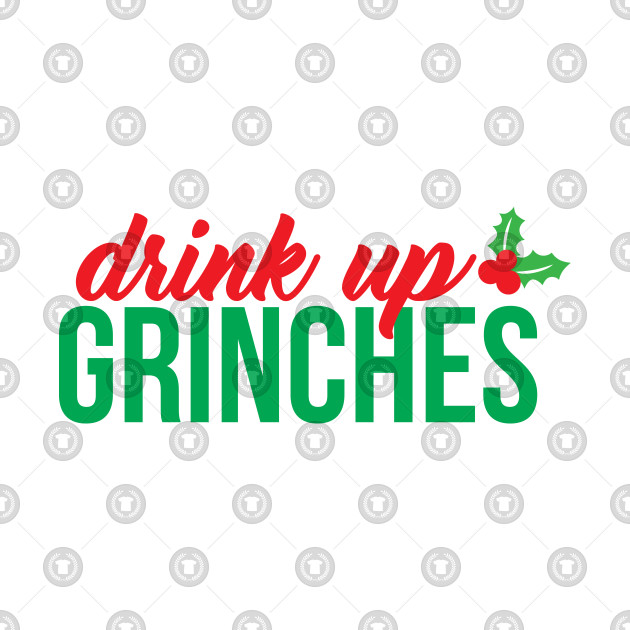 Drink up grinches clipart clip art black and white library Drink Up Grinches clip art black and white library