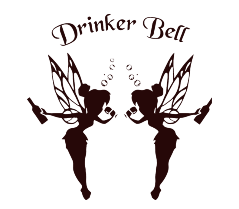 Drinkerbell clipart svg library download Drinkerbell Black | tshirts | Beer label, Beer label design, Wine craft svg library download