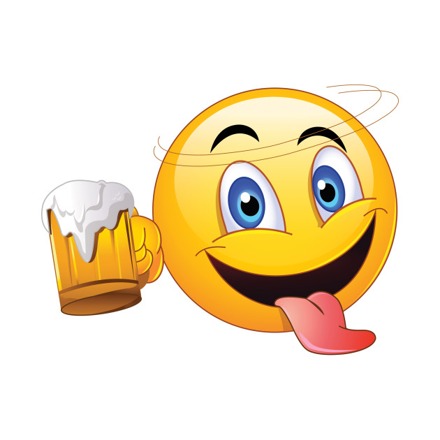 Drinking emoji clipart freeuse library Drunk Emoji freeuse library