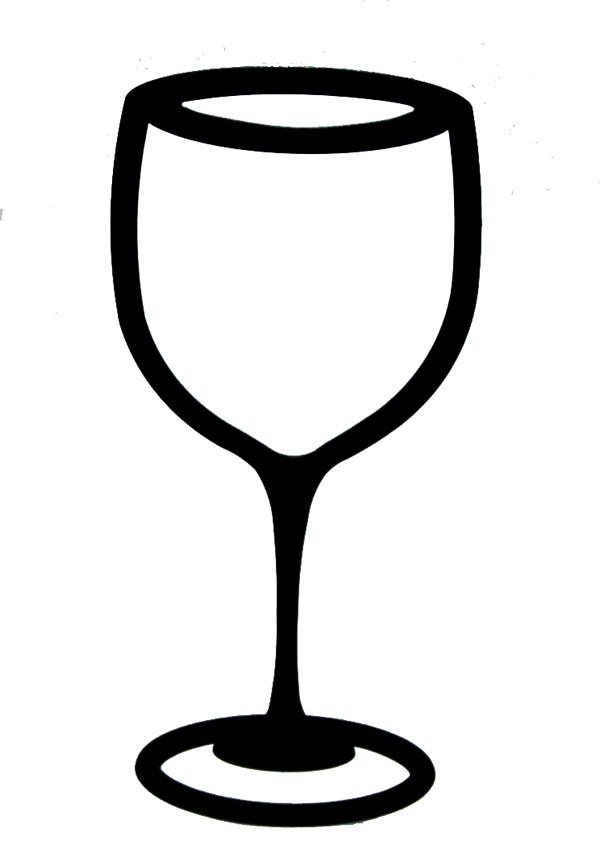 Wine slipper clipart clipart black and white Wine Clipart Black And White | Free download best Wine Clipart Black ... clipart black and white