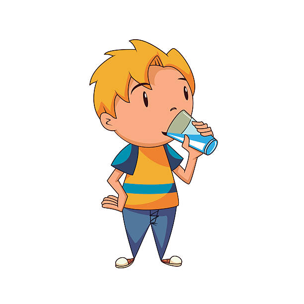 Drinking water pictures clipart vector freeuse library Kids drinking water clipart 7 » Clipart Station vector freeuse library