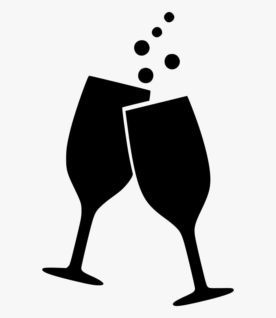Drinking wine clipart png transparent Drink Wine Glasses Splash Alcohol Cheers Beverage Svg - Wine Glasses ... png transparent
