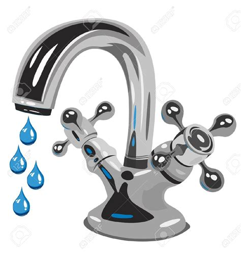 Dripping faucet clipart royalty free stock Tap Clip Art - Falcones royalty free stock