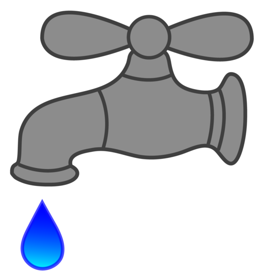 Dripping faucet clipart royalty free download Water Faucet Dripping - Free Clip Art royalty free download