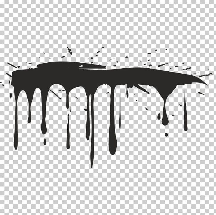 Drips of paint black and white clipart clip black and white stock Drip Painting PNG, Clipart, Aerosol Paint, Angle, Black, Black And ... clip black and white stock