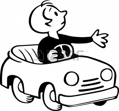 Drive a car clipart black and white png library stock Toy Car Clipart Black And White | Free download best Toy Car Clipart ... png library stock