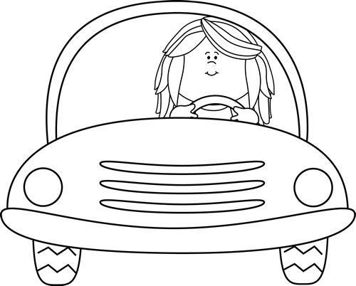 Drive a car clipart black and white svg library Free Black And White Car Pictures, Download Free Clip Art, Free Clip ... svg library