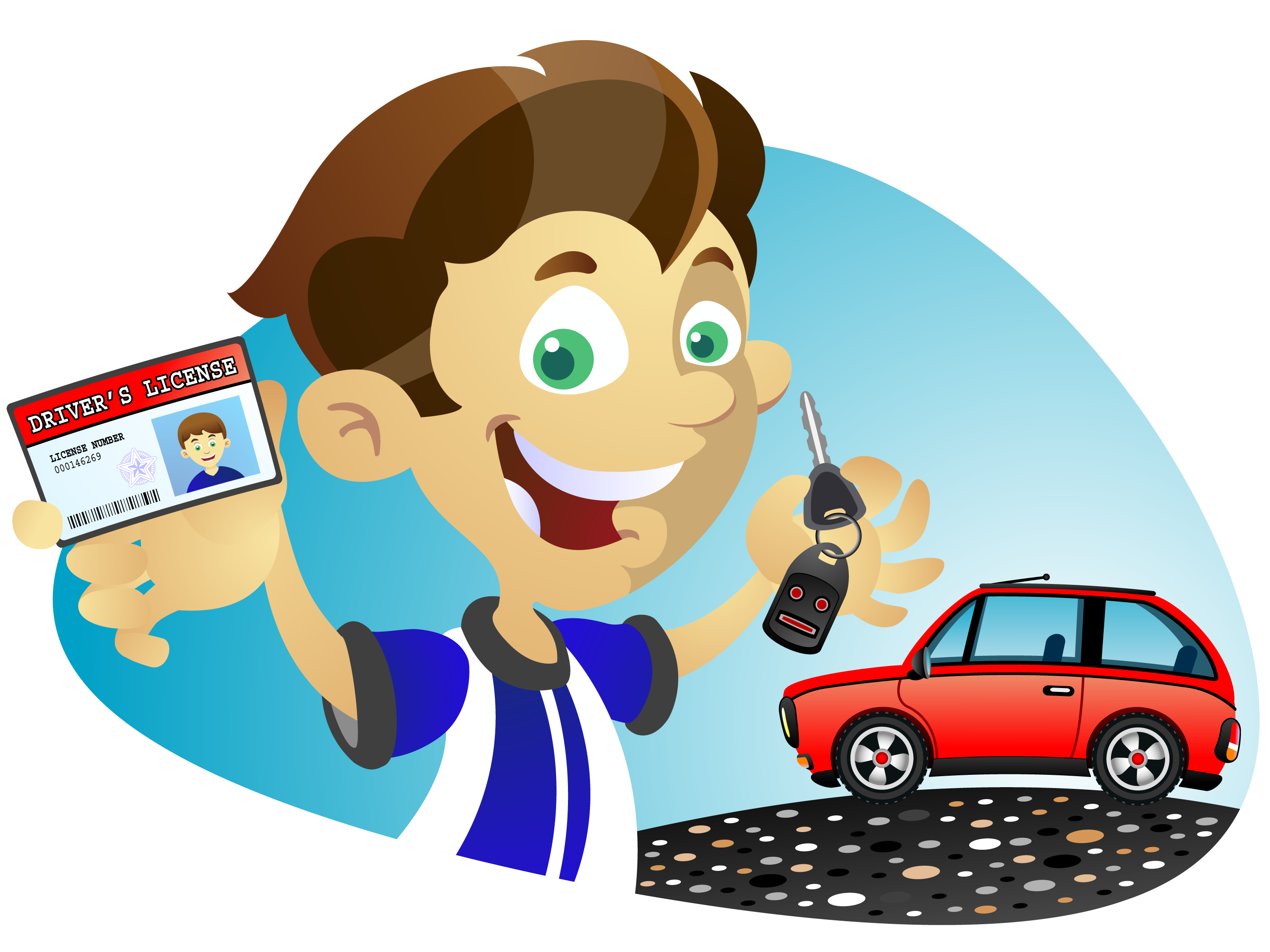 Driving school clipart clip black and white library Weybridge Driving lessons - 10 Hours Block Booking Discount clip black and white library