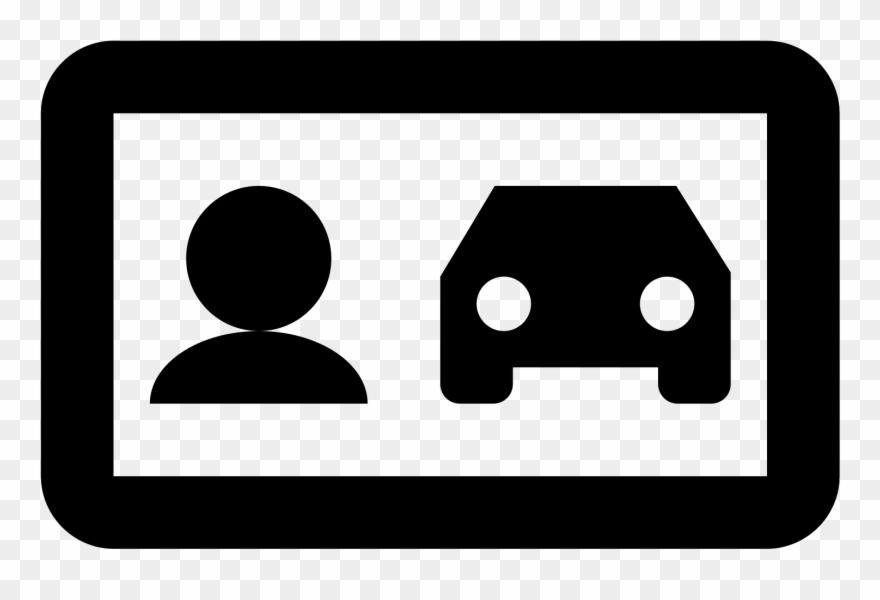 Driver license clipart vector stock Driver License Icon - Car Clipart (#1509239) - PinClipart vector stock