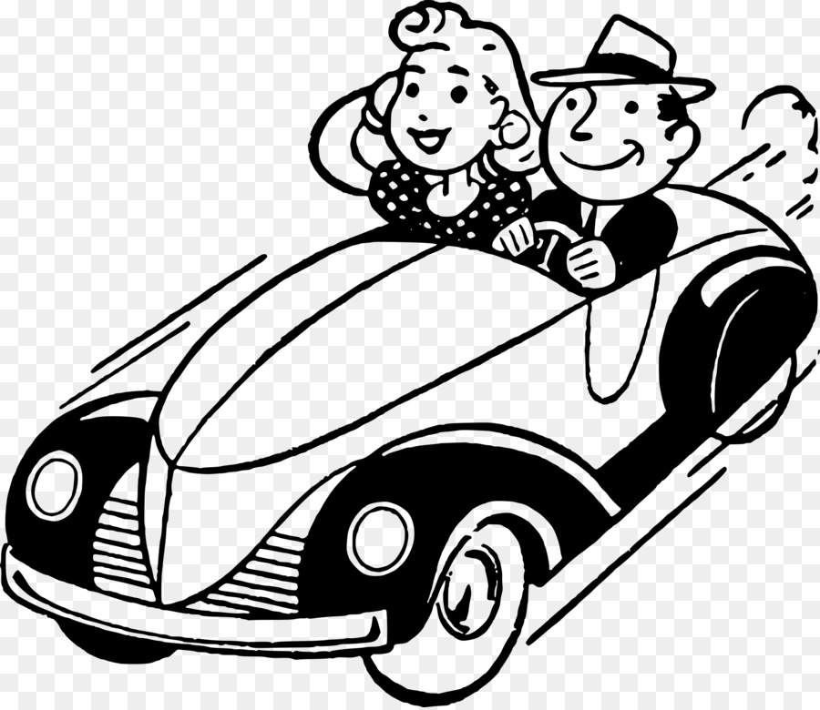 Clipart of a black guy diving a car jpg library Driving Car Png Black And White & Free Driving Car Black And White ... jpg library