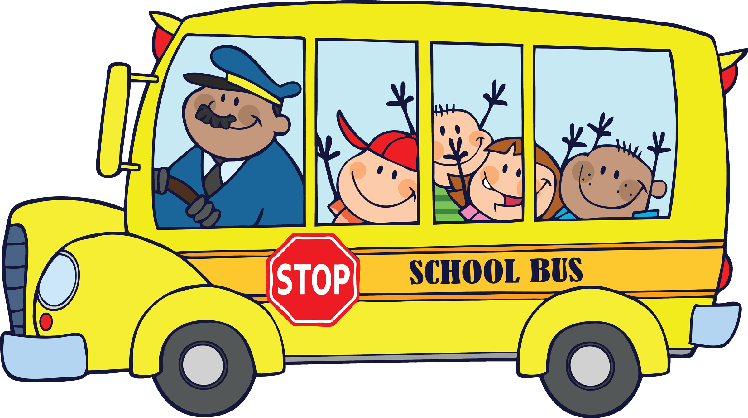 Driving to school clipart vector free Head of School | Zabbar Primary B vector free