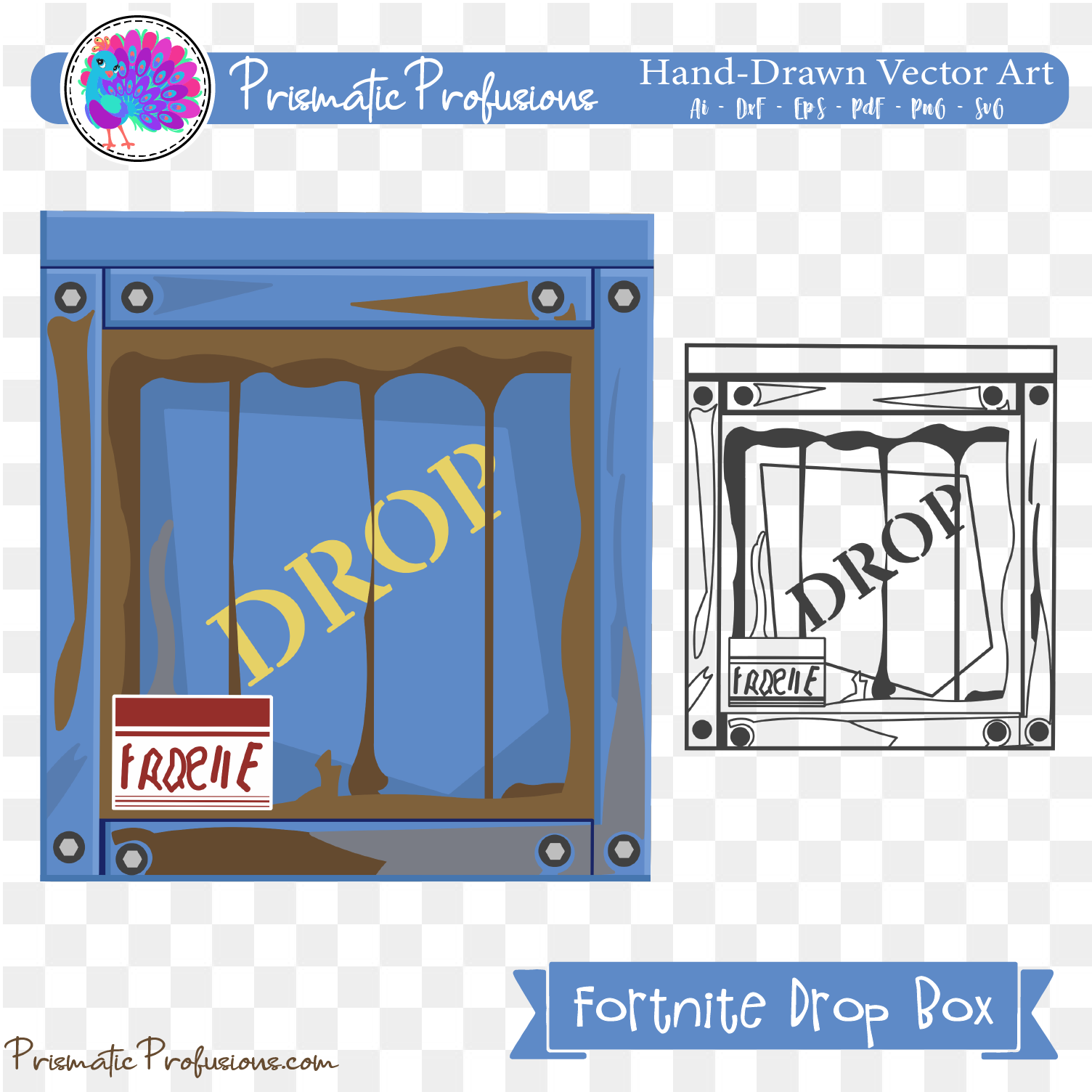 Fortnite supply drop clipart picture transparent download Fortnite Dropbox, Fortnite Dropbox SVG, Fortnite Dropbox Clipart picture transparent download