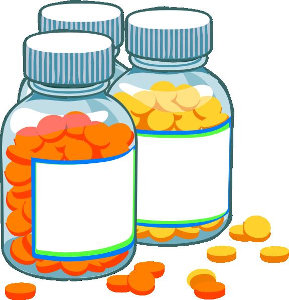 Medical school clipart vector Blank Medicine Bottles Clip Art At Clker Com Vector Clip Art Online ... vector