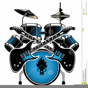 Drum set clipart free clip art library download Pictures Of Drum Sets Clipart   Free Images at Clker.com - vector ... clip art library download