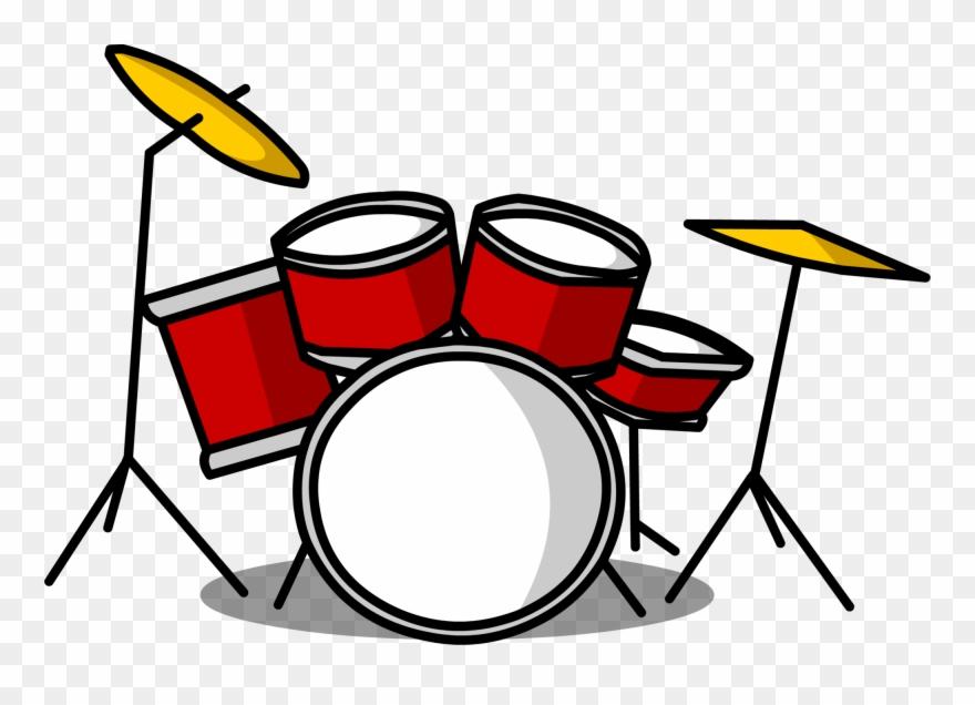 Drum set pictures clipart picture black and white download Drum Set Clipart Png Transparent Png (#2169129) - PinClipart picture black and white download