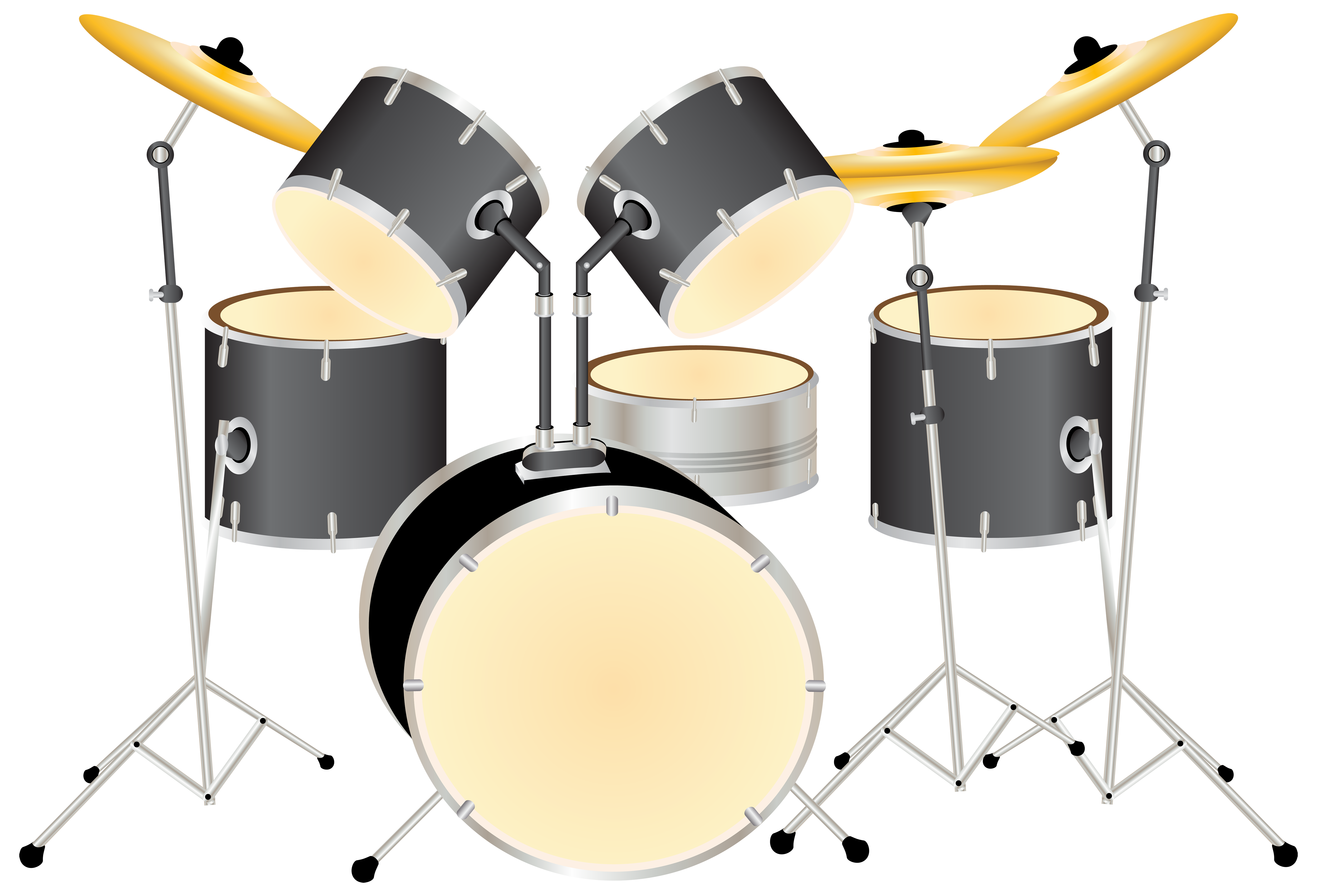Drum set pictures clipart image royalty free stock Drum Kit PNG Clipart - Best WEB Clipart image royalty free stock