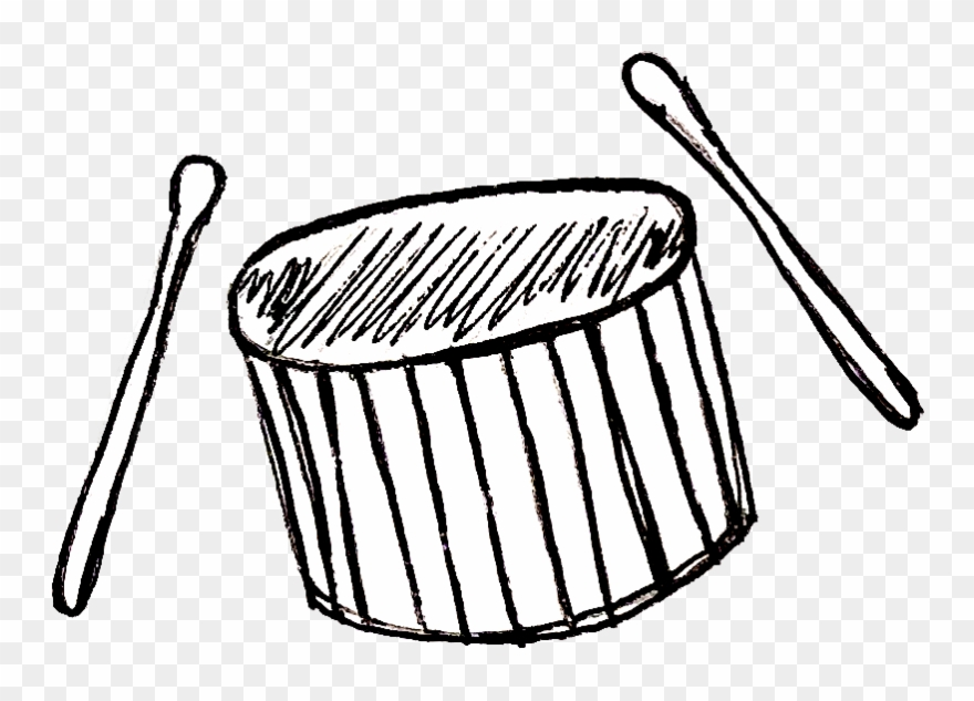 Drumming on buckets black and white clipart svg library stock Or Singing, Or Drumming, Or Him Playing Bass Clipart (#2897440 ... svg library stock