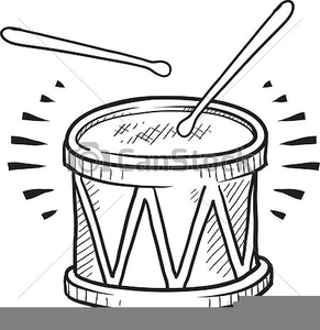 Drums clipart black and white clip black and white stock Drum Clipart Black And White | Free Images at Clker.com - vector ... clip black and white stock