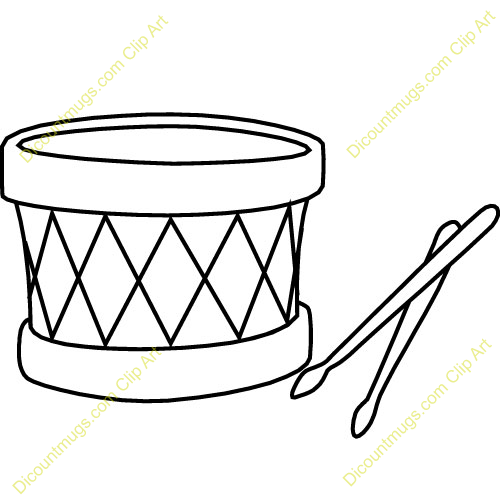 Kick drum clipart black and white picture library Drum Clipart Black And White | Clipart Panda - Free Clipart Images picture library