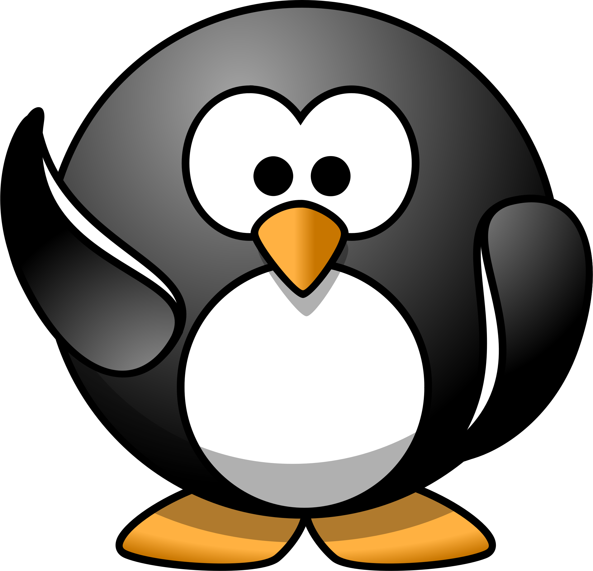 Drunk penguin clipart graphic library Cool Penguin Clipart - Free Clipart graphic library