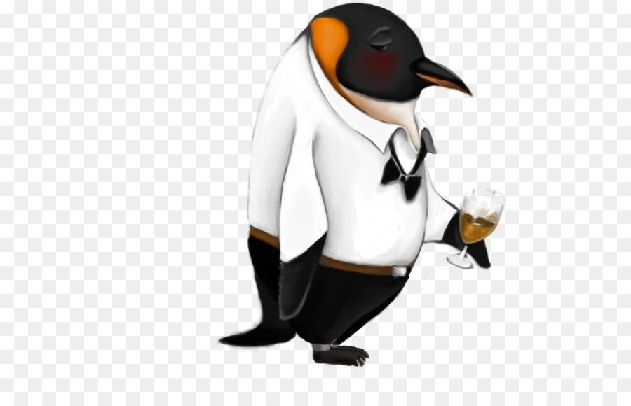 Drunk penguin clipart banner free stock King penguin Fighting Penguin Clip art - drunk banner free stock
