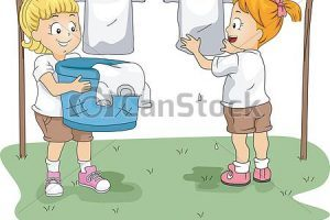 Drying clothes clipart picture royalty free download Drying of clothes clipart 1 » Clipart Portal picture royalty free download