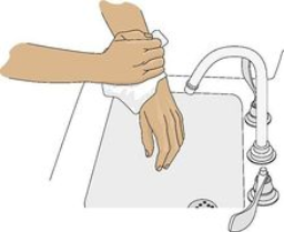 Drying hands with paper towel clipart clipart black and white stock Paper Towel Clipart (95+ images in Collection) Page 2 clipart black and white stock