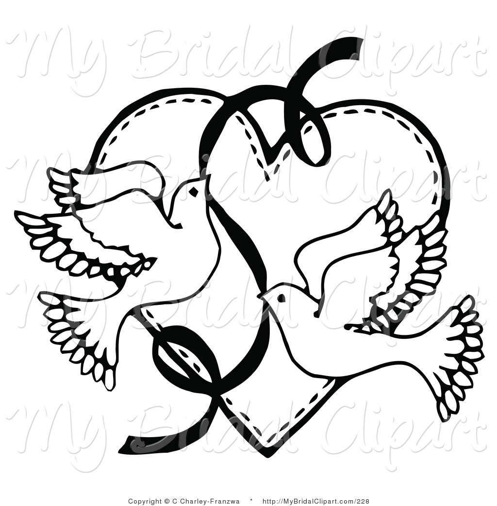 Dtp cliparts free download png black and white Wedding Heart Clipart | Clipart Panda - Free Clipart Images png black and white